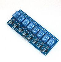 arduino relay control - 8 channel channel relay control panel PLC relay V module for arduino Canal canales de transmisión PLC el panel de control