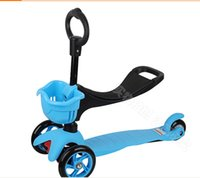 kick scooter - 3 in Special Edition Scooter with adjustable Seat and O Bar Micro mini kids kick scooter baby Walker ages
