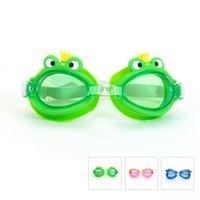 Wholesale Mesuca Sport SUPER K Water Sport Anti fog Waterproof Protection Swimming Goggles SSM1801 Cartoon Frame for Boys and Girls