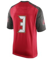 Wholesale 2015 Football Draft st Overall Pick Jersey Men s Jersey Red Color Size Stitched Mix Match Order All JERSEY