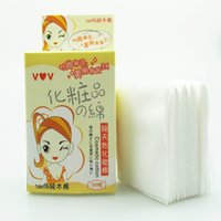 algodon cotton - women daily use cotton pad algodon for make up wipes makeup factort supply