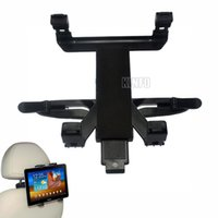 Wholesale Universal Car Vehicle Seat Back Headrest Rotatable Mount Holder For Apple iPad Tablet PC Tablet Stand IT12 H63P