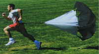 Wholesale Speed Training Resistance Parachute Running Chute Speed Chute Running Umbrella