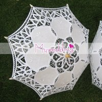 baby parasols - Hot selling Baby Shower Decoration Umbrella Kid s lace parasol Photo studio props