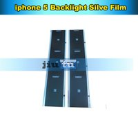 Wholesale Cell Phone Repair Parts backlight sticker silver film plastic refurbishment replacement for iphone s c
