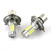 Wholesale 2Pcs Brightness H4 W V Auto LED Build in CREE Chip Light Bulb White Maximum Tolerance No Extra Wiring