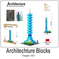 abs architecture - LOZ Architecture Building Block Toy Taipei ABS Material Blocks each Set with Retail Package