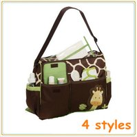Wholesale 2015 Baby Bag Diaper Maternity for Mom Nappy Mother Changing and Mummy Fashion brand Designer to stuff multifunctional