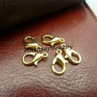 Wholesale Lobster Clasps For DIY Gold Color x6mm Fashion Accessory