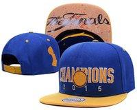 ball state sports - Men s Golden State Finals Champions Blue Yellow White Blue Locker Room Snapback Hat hip hop Sport Adjustable caps
