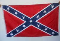 Wholesale Confederate Rebel Civil War Flag National Polyester Flag X FT by DHL