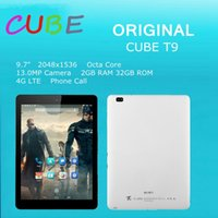Allfine cube - Original Cube T9 tablet pc MT8752 octa core inch x1536 Retina G Dual G Dual camera MP MP WIFI Bluetooth OTG TF