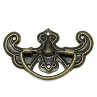 Wholesale Bronze Tone Pattern Drawer Cabinet Desk Door Pull Handle Knob Furniture Hardware A3