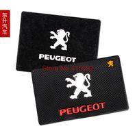 Wholesale Dongfeng car mat Peugeot slip resistant non slip pad super car emblem pad personalized mobile phone slip resistant pad