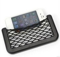 Wholesale Universal Car Seat Side Back Net Storage Bag Phone Holder Pocket Organizer GPS