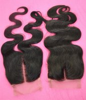 brazilian lace closure - Cheap Human Hair Lace Closure Brazilian Hair Body Wave Closure Middle Part g Real Lace Closure