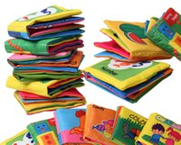Wholesale 10 cm Colored Cloth Baby Education Picture Books Educational toys for children