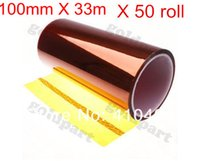 Wholesale pieces mm X m Polyimide Tape Thermostable Adhesive Film order lt no track