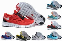 Cheap Free Run 2.0 Running Shoes For Men & Women Black Red High Quality Sports Sneakers Footwear Sports Shoes Cheap Best Tennis Jogging Shoes