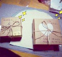 Wholesale 50pc SIZE cmx5 cmx2 cm DIY Kraft Paper Box Cardboard Mini Box Soap Box Jewelry Packing Gift Box