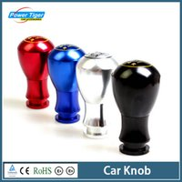 Wholesale Car interior Accessories Decoration Cool Universal Aluminium Alloy Car Gear Shift Knob Manual Shift Lever Knob R