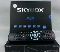 Wholesale NEW Original Skybox F3S Full pi HD PVR Digital Satellite Receiver support usb wifi youtube