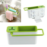 Wholesale Essential Durable Suspensibility Sucker Debris Rack Storage Kitchen Utensils Dish Rack Storage Box