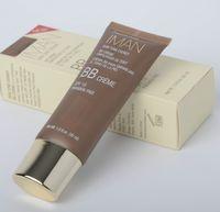basic oils - New Arrival iman Branded Cosmetics Clay Medium Foundation Primer ML SPF15 Shades Basic Face Power Makeup Primer bb creams