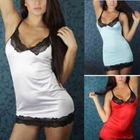Wholesale w1022 Details about HOT Sexy Women Lady Lingerie Sleepwear Lace Dress Underwear Nightwear G string