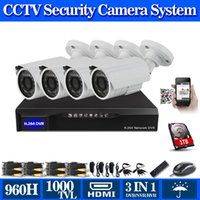 Wholesale 8 channel h cctv dvr with TVL Day and Night Security Camera system h dvr nvr hvr for hikvision ip camera TB HDD