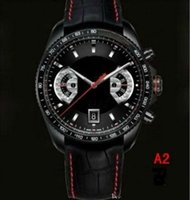 Wholesale 2015 brand new gift Luxury black Wristwatche men watch Luxury sports Brand Calibre RS Automatic Stainless steel Men s Watches