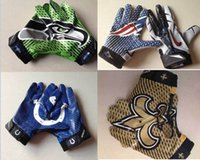 Wholesale 2015 Sports Gloves Boxing Baseball American Football Team Youth Cheap Gloves Exercise Training Accept Mix Order More Styles