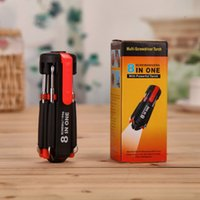 Wholesale 8 six eight light head screwdriver and circadian LED lamp with a reinforced multifunctional combined tool