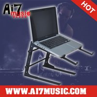 Wholesale Ai7music DJ Laptop stand Notebook stand DJ Stands CD stands LPS Black
