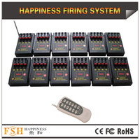 Wholesale FedEX DHL cues CE Certificate pyrotechnic fire system remote control fireworks firing system happiness system DB04r