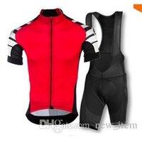 bicycle kit - 2015 NEW Assos Men Cycling Bike Jersey clothing set short sleeve jacket bib gel pad shorts kit summer bicycle sport