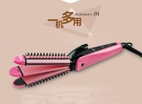 Wholesale New in1 hair curlers Corn clip hair stick straight hair hot roller comb curling iron styling tools Hair styler Curling Irons