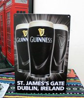 guinness - Guinness Wine Tin painting Retro Metal signs Art House Cafe Restaurant Bar Metal Paintings F Christmas decorations