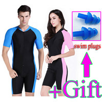Wholesale One piece diving skins wetsuit men women swimsuit swimwear rash guard male female windsurf ropa surf clothing swim suit tights