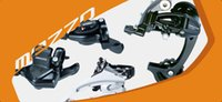Wholesale MTB mountain bike speed Microshift MEZZO derailleur group set speed control system