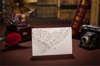 rhinestone buckles - 2015 Classic Style Wedding Invitations Cards Custom With Rhinestone Laser Cut Flower Printable Customizable