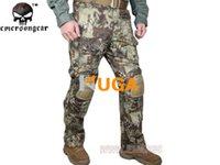 Wholesale Emerson Tactical bdu G3 Combat Pants Emerson BDU Military Army Pants tactical pants Leisure trousers G3 Combat Knee Pads