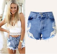 baggy boyfriend jeans - Womens Plus Size High Waisted Denim Shorts Baggy Distressed Jeans Shorts Oversized Roll up Hem Boyfriend Denim Jeans Short