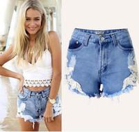 Wholesale Womens Plus Size High Waisted Denim Shorts Baggy Distressed Jeans Shorts Oversized Roll up Hem Boyfriend Denim Jeans Short