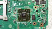 amd cpu s - for asus k70AF K51AB laptop motherboard for amd cpu without ATI graphics card DDR2 rev2