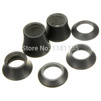Wholesale New PRO Full Carbon Washer Bike Headset Cover Bicycle Parts Stem Spacer mm