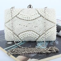 beading bags - Factory Retaill brand new handmade fantastic beaded evening bag clutch with satin pu for wedding banquet party porm