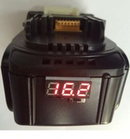Wholesale 100 high quality Power Tools Li ion Battery Replacement Makita BL1430 LED v A New