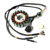Wholesale 18 Coil DC Magneto Stator for CB250cc Water Cooled ATV Dirt Bike k079 order lt no track