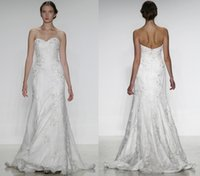 Wholesale Lace Wedding Dresses China Sweetheart A Line Sweetheart Neckline Zipper Back Weddings Sexy Vintage Bridal Gowns New Arrival ZC